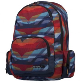Brunotti rugzak Backpack Functional Geo Angels Navy